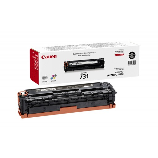 Canon 6272B002, Toner cartridge Black, 731, LBP7100, 7110, MF6680, MF8230, MF8280- Original