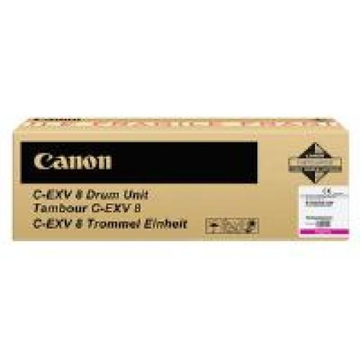Canon 7623A002AC, C-EXV8 Drum Unit CLC-2620, 3200, 3220 - Magenta Genuine