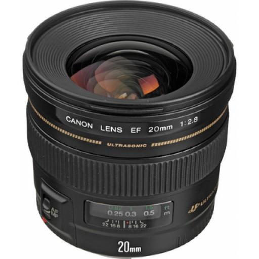 Canon Ef20mm f/2.8 Usm Lens