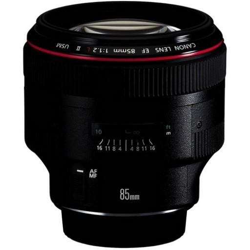Canon Ef 85mm f/1.2 L Usm II Lens