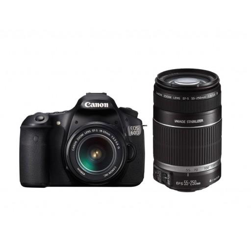 Canon EOS 60D Double Lens Kit Camera