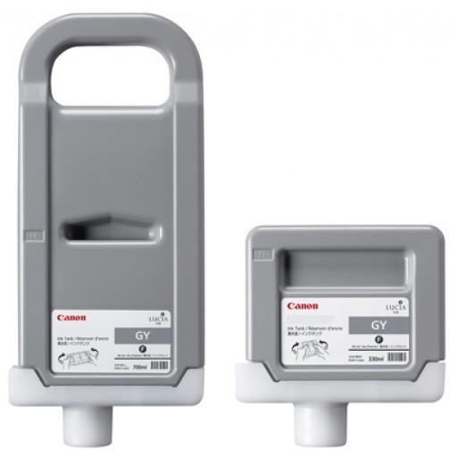 Canon IPF8300 Ink Cartridge, Grey -  High Capacity , PFI-704GY, 700 Ml,  (3870B005AA)