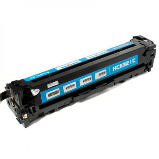 HP CE321A Toner Cartridge Cyan, 128A, CM1415, CP1525 - Compatible