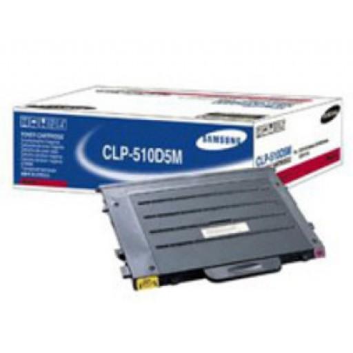 Samsung CLP-510D5M Toner Cartridge - HC Magenta Genuine