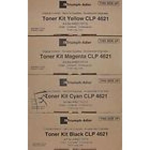Triumph-Adler CLP4626, CLP4630 Toner Cartridge - Value pack Genuine