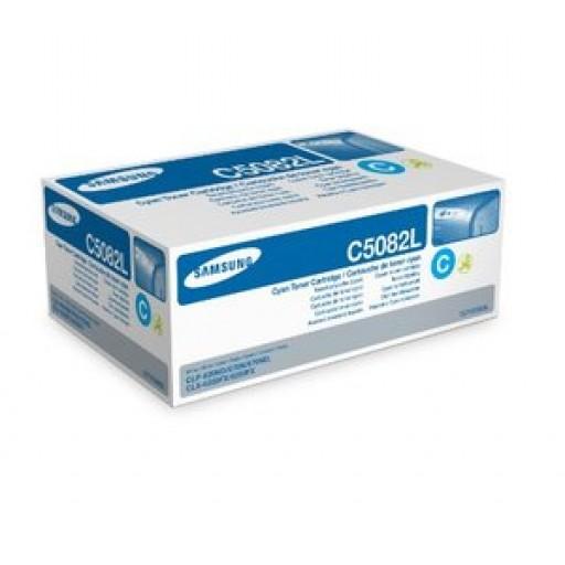 Samsung CLT-C5082L Toner Cartridge - HC Cyan Genuine