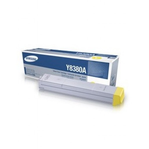 Samsung CLX-Y8380A, Toner Cartridge Yellow, CLX-8380ND- Original