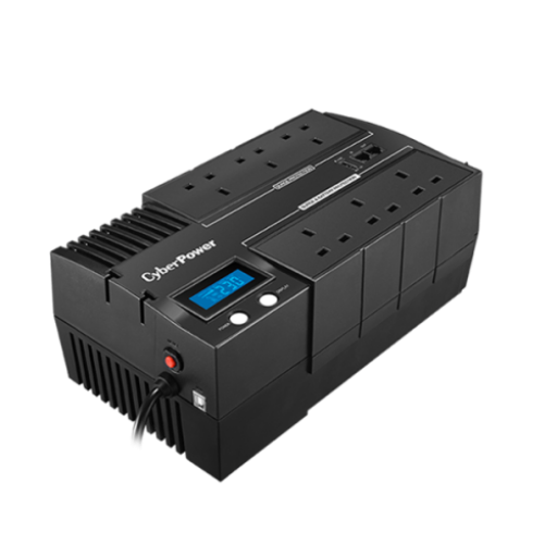 CyberPower BR700ELCD, Line-Interactive 700VA 6AC outlet(s) Compact Black UPS