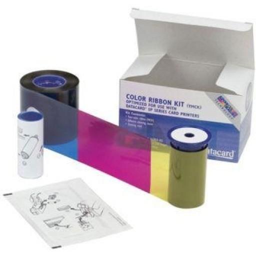 Datacard 534000-112, YMCKT Colour Printer Ribbon, SP25, SP25 plus- Original