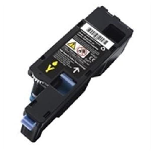 DELL 593-11131, Dell C1660W STD CAP Yellow Toner Cartridge-Genuine