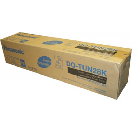 Panasonic DQ-TUN28K, Toner Cartridge Black, DP C262, C322- Original