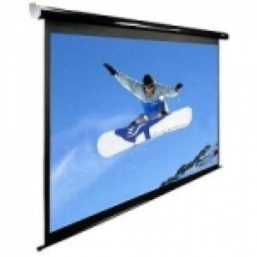 Elite  ELECTRIC84UV-BLACK Electric Spectrum Projection Screen