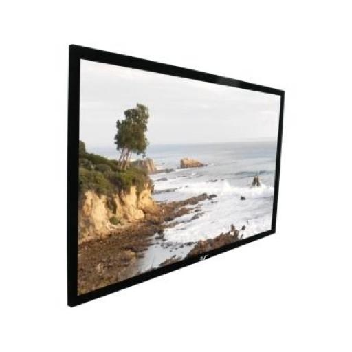 Elite R180WH1-BLACK Fix Frame Projection Screen