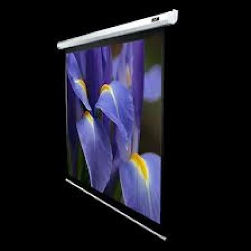 Elite VMAX100XWH2-WHITE  Electric VMax Projection Screen