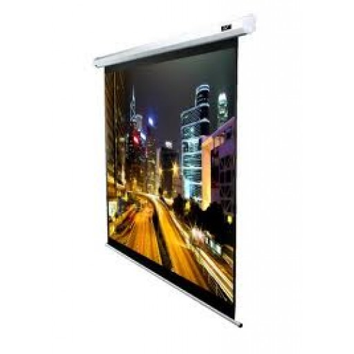 Elite VMAX120XWV2-WHITE Electric VMax Projection Screen