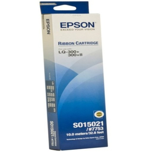 Epson C13S015021, Fabric Ribbon Black, LQ200, LQ300, LQ400, LQ500- Original