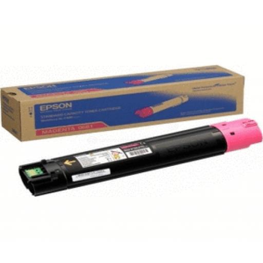 Epson C13S050661 Toner Cartridge, Workforce AL-C500 - Magenta Genuine
