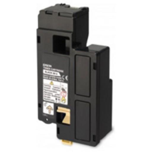 Epson C13S050672 Toner Cartridge, AcuLaser C1700, C1750, CX17 - Black Genuine
