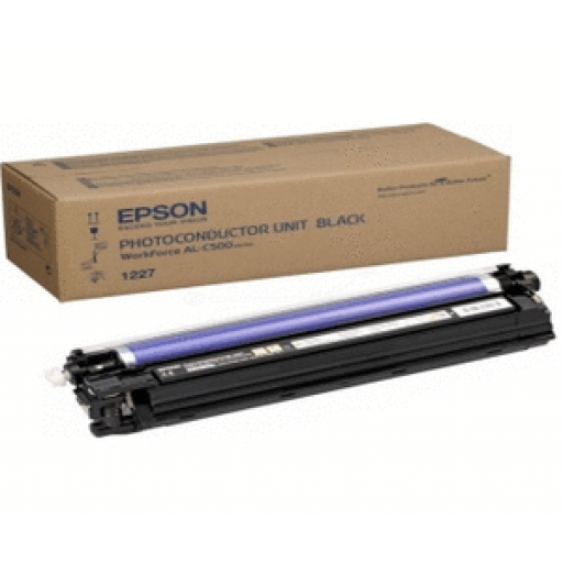 Epson C13S051227 Photoconductor Unit, Workforce AL-C500 - Black Genuine