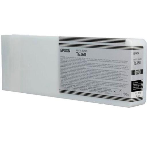 Epson C13T636800, T6368 Ink Cartridge, Stylus Pro 7700, 7890, 7900, 9700, 9890, 9900- HC Matte Black Genuine