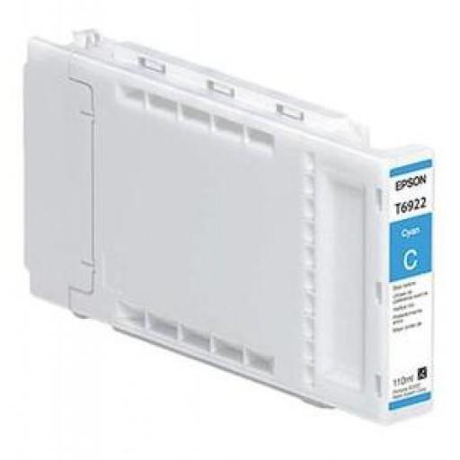 Epson C13T692200, T6922 Ink Cartridge, SureColor SC T3000, T5000, T7000 - Cyan Genuine