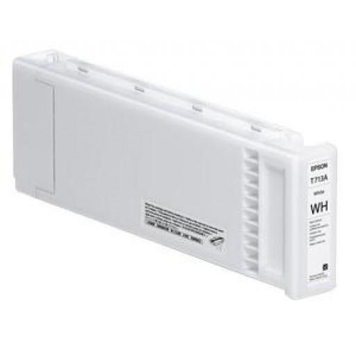 Epson C13T713A00, T713A Ink Cartridge, SC-S70600, SC-S50600 - White Genuine