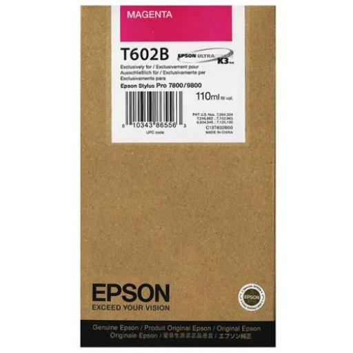 Epson T602B, Ink Cartridge Magenta, Stylus Pro 7800, 9800- Original
