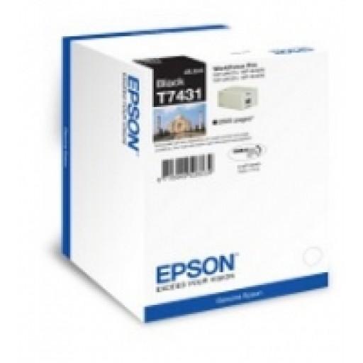 Epson WP M400, M4500 Ink Cartridge - Black, EPT74314010