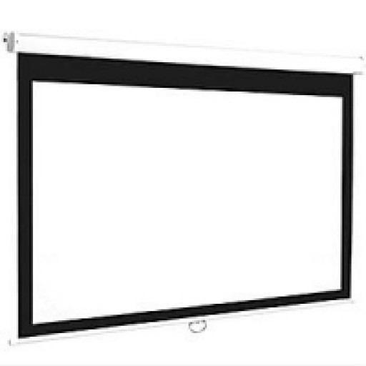 Euroscreen CEL1617-W-UK Connect Electric Projection Screen