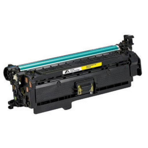 HP CE252A Toner Cartridge Yellow, CP3525, CM3530, CP3520 - Compatible