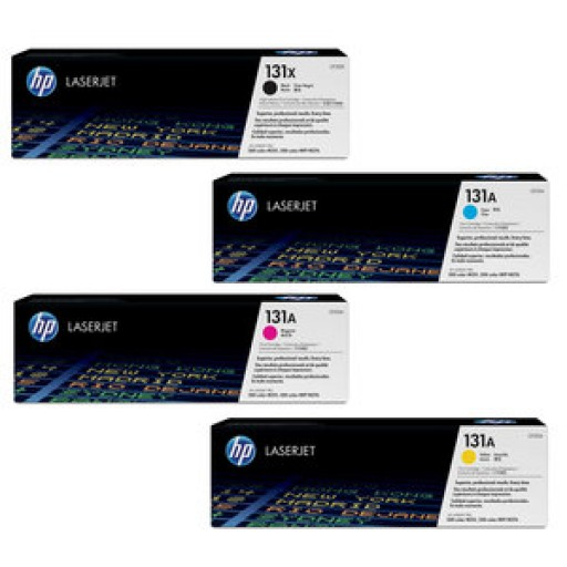 HP 131 Toner Cartridge, LaserJet Pro 200 - Multipack Genuine