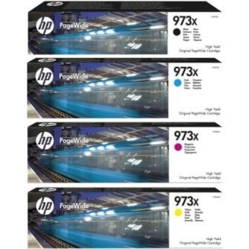 HP 973X, Ink Cartridge HC Multipack, PageWide Pro 452dw, Pro 477dw- Original