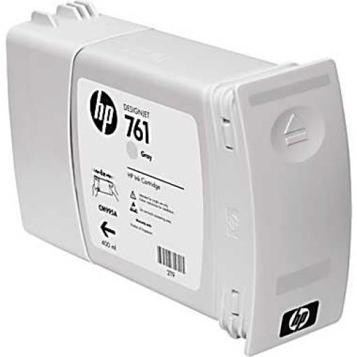 HP CM995A, 761 Ink Cartridge, Designjet T7100 - Grey Genuine