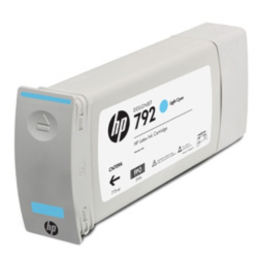 HP CN709A, 792 Ink Cartridge Light Cyan, Designjet L28500- Original