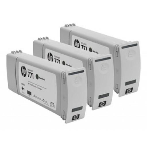 HP CR250A, 771 Ink Cartridge, Designjet Z6200 - Matte Black Multipack Genuine
