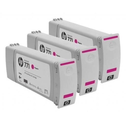 HP CR252A, 771 Ink Cartridge, Designjet Z6200 - Magenta Multipack Genuine