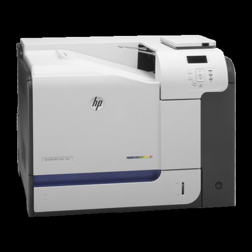 HP M551dn, LaserJet Enterprise 500 Colour Printer