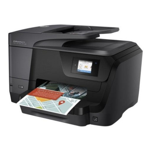 HP Officejet Pro 8718, Wireless Inkjet Printer