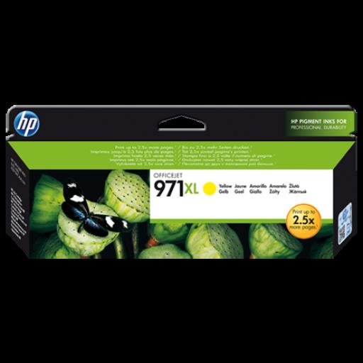 HP CN628AM, Ink Cartridges HC Yellow, Officejet Pro X451, X476, X551, X576- Original