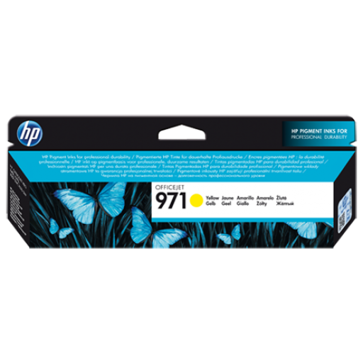 HP Officejet Pro X551dw Ink Cartridges - Yellow Genuine, CN624AE