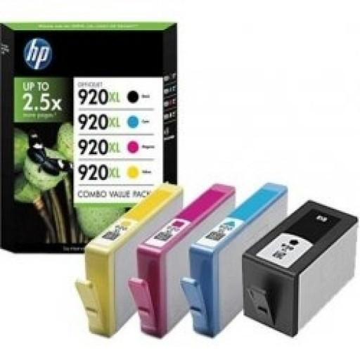 HP 920XL Ink Cartridge - Multipack Genuine, C2N92AE