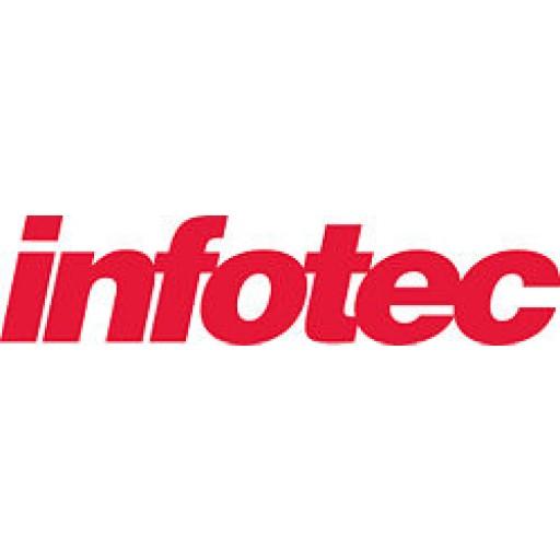 Infotec 89040067 Toner Cartridge Yellow, Type 2013/I, IS 824, 1024 - Genuine