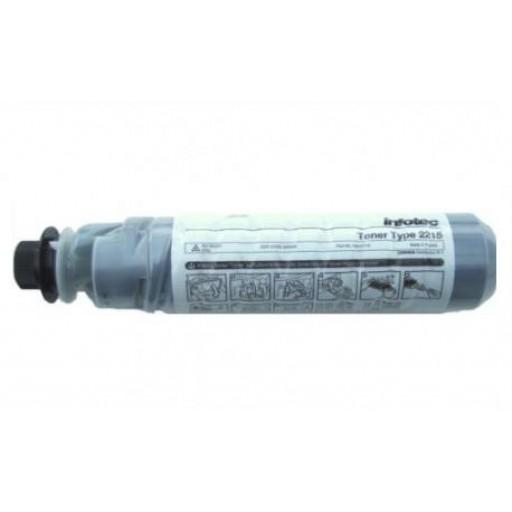 Infotec 888265 Toner Cartridge Black, Type 2215, IS2215 - Genuine