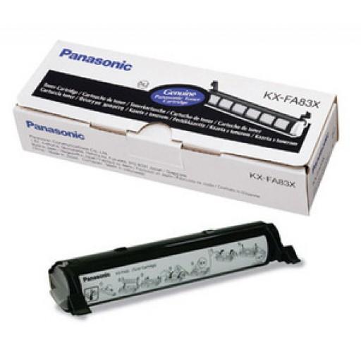 Panasonic KX-FA83X Toner Cartridge Black Refill,  KX-FL511, FL541, FL611, FLM651- Original