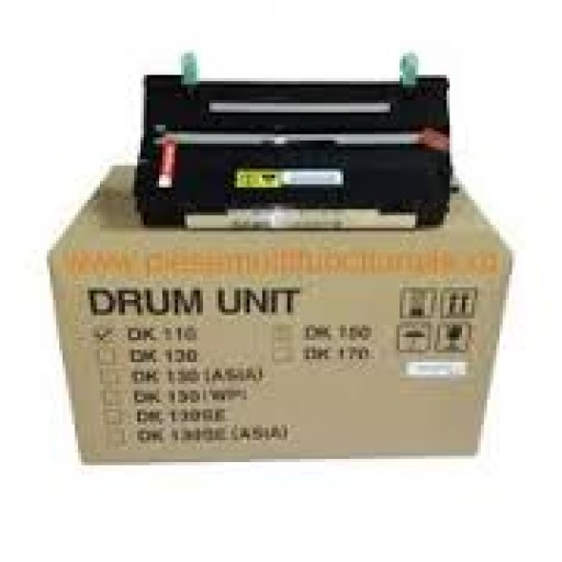 Kyocera 302FV93012, DK110 Drum Unit, FS 1116, 920 - Black Genuine