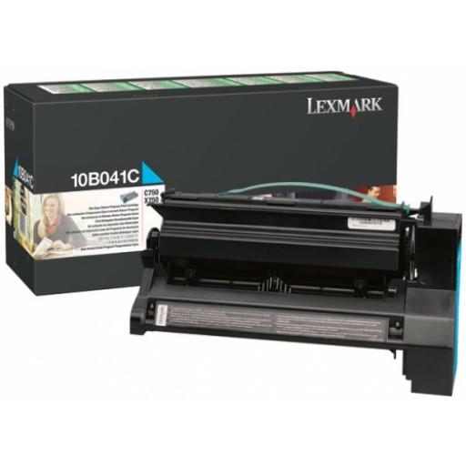 Lexmark 10B041C, Return Program Toner Cartridge Cyan, C750- Original