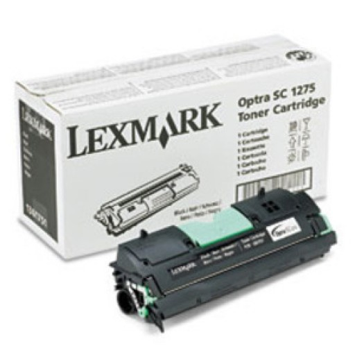 Lexmark 1361751 Toner Cartridge, Optra SC1275, SC4050 - Black Genuine