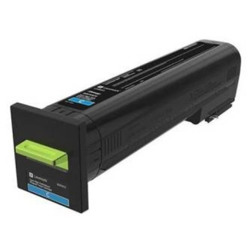 Lexmark 82K2UC0, Return Programme Toner Cartridge Ultra HC Cyan, CX860- Original