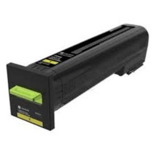 Lexmark 82K2UY0, Return Programme Toner Cartridge Ultra HC Yellow, CX860- Original