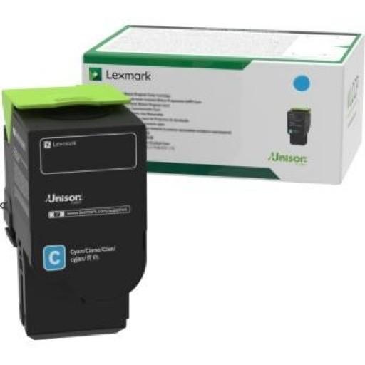 Lexmark C2320C0, Return Program Toner Cartridge Cyan, C2325, C2425, C2535, MC2640- Original
